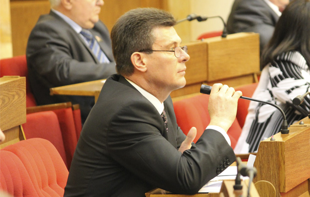Во время заседания Палаты представителей Национального собрания Республики Беларусь